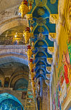 The blue mosaics Stock Photo
