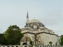 The Blue mosk or Mosque with its minarets and domes in Istanbul Royalty Free Stock Photo