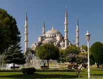 Blue Mosque. Photo of the Blue Mosque in Istanbul Stock Photo