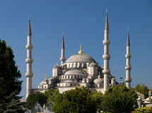 Blue Mosque. Photo of the Blue Mosque in Istanbul Stock Photos