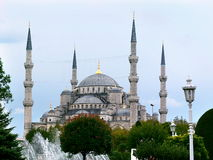 Blue Mosque. Historical Sultanahmet Cami in Istanbul Stock Image