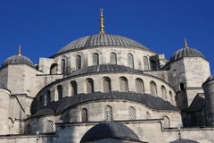 The Blue Mosque. Close-up of the Blue Mosque, Istanbul,Turkey Stock Image