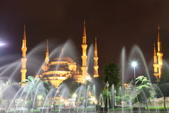 Blue Mosque Royalty Free Stock Photo