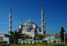 Blue mosque Royalty Free Stock Photos