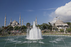 Blue Mosque. (Sultan Ahmet Mosque), Istanbul, Turkey Royalty Free Stock Photography