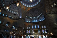 Blue Mosque. Details of the Blue Mosque in Istanbul Royalty Free Stock Photography