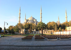 Blue Mosque. The Blue Mosque in Istanbul, Turkey Royalty Free Stock Images