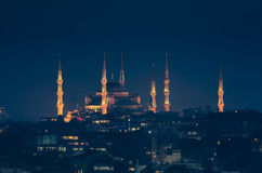 The Blue Mosque Royalty Free Stock Photography