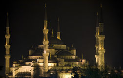 Blue Mosque. (Istanbul) at night Stock Photo