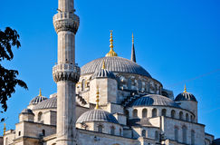 Blue Mosque. In Istanbul, Turkey royalty free stock image
