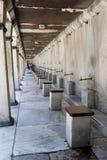 Blue Mosque Ablution Taps Stock Photos