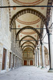 Blue Mosque Arched Corridor Stock Photography