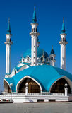Blue mosque on the blue sky Stock Image