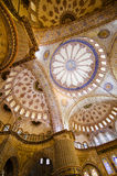 Blue mosque ceiling Stock Photography