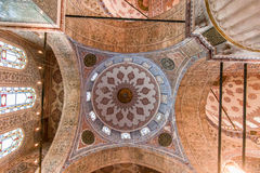 Blue Mosque Ceiling Istanbul Royalty Free Stock Photo