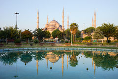 Blue Mosque at Dawn Royalty Free Stock Image