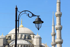 Blue Mosque detail in Istanbul, Turkey Stock Images
