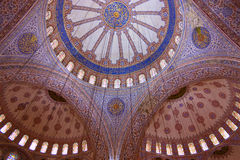 Blue Mosque Domes Royalty Free Stock Photo