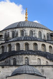 The Blue Mosque Domes royalty free stock photography