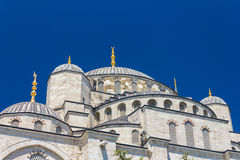 Blue Mosque domes Stock Photo