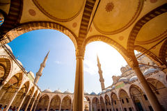 Blue Mosque. Famous Blue Mosque Sultan Ahmet Cami in Istanbul, Turkey Stock Image
