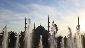 Blue Mosque stock video