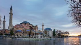 The Blue Mosque is an historical mosque in Istanbul, Turkey royalty free stock photography
