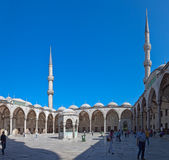 Blue mosque, Instanbul Royalty Free Stock Photo