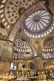 Blue mosque interior Stock Image