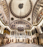 Blue Mosque interior. Also know as the Sultan Ahmed Mosque, it is historic mosque in Istanbul, Turkey Stock Images