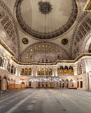 Blue Mosque interior. Also know as the Sultan Ahmed Mosquei n Istanbul, Turkey Royalty Free Stock Photography