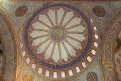 Blue Mosque Interior Royalty Free Stock Photos
