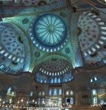 Blue Mosque Interior Stock Image