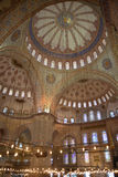 Blue Mosque - Interior view, Istanbul Stock Photos