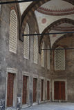 The Blue Mosque Interior Walls. Istanbul, Turkey Royalty Free Stock Photo