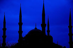 Blue Mosque in Istambul. Stock Photography