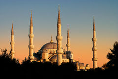 The blue Mosque, Istambul, Turkey Royalty Free Stock Image