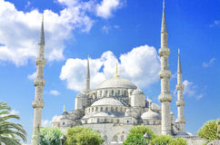 The blue mosque, Istambul Stock Images