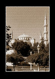 Blue Mosque in Istanbul Royalty Free Stock Photography