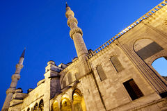 Blue mosque Istanbul. Photo of Blue mosque Istanbul Royalty Free Stock Photography