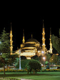 Blue Mosque in Istanbul. Turkey Royalty Free Stock Photo