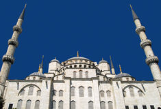 Blue Mosque in Istanbul. The Sultan Ahmed Mosque was built between 1609 and 1616, during the rule of Ahmed I. While still used as a mosque, the Sultan Ahmed Royalty Free Stock Images