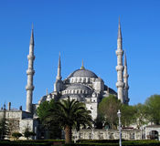 Blue mosque of Istanbul Royalty Free Stock Photos