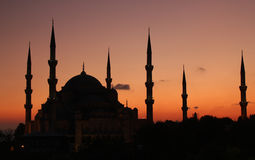 Blue Mosque Istanbul Stock Images