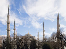 Blue mosque in Istanbul Stock Photography