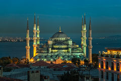 Blue mosque Istanbul Stock Image