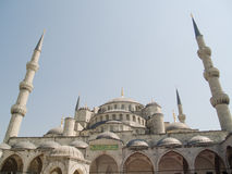The Blue Mosque of Istanbul. The Blue Mosque, the  most popular mosque of Istanbul - Turkey Royalty Free Stock Photo