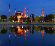 Blue Mosque - Istanbul Royalty Free Stock Photo