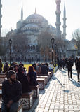 The Blue Mosque. In Istanbul Royalty Free Stock Photo