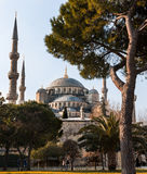The Blue Mosque, Istanbul. The Blue Mosque in Late afternoon, taken form the Hippodrome, Istanbul Stock Photo